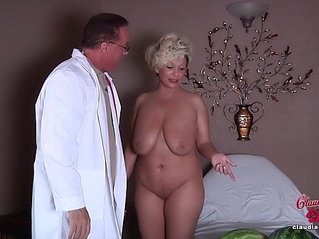 Claudia marie gets her fake tits put back in