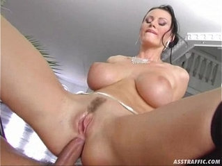 Ass Traffic huge tits anal fucked and double penetrated