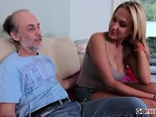 Alanah rae dirty old man lucks out