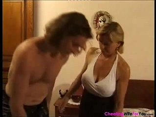 Experienced French wife shared with younger lover