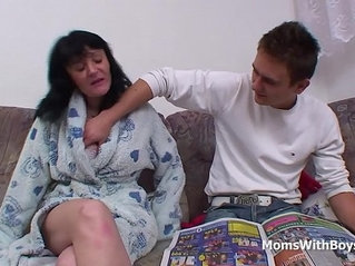 Busty Mother Fucking Cock