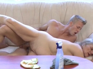 Mature fucks younger dude