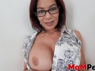 Ryder Skye getting her throat fucked and filled up with jizz