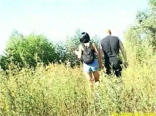 Daddy banged sweet Daughter Outdoor