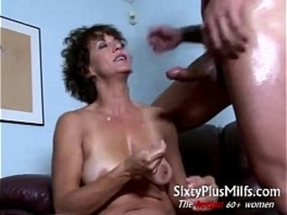 Horny mature housewife spooned