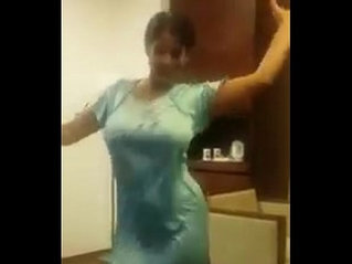 Indian Aunty Dance With Boobs
