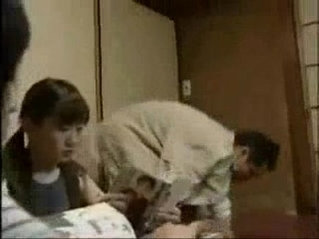 18 year old Japanese teen naughty girl and step