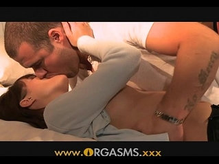Orgasms Her perfect body is too much for him