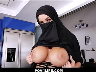 Busty Arabic Teen Violates Her Religion Full Video
