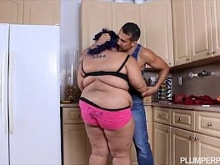 Angry BBW Babe is Calmed and Fucked by Hubbys Friend