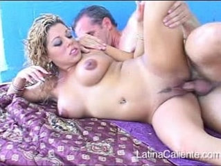 Naughty bitch Roxy in a Latina Caliente video