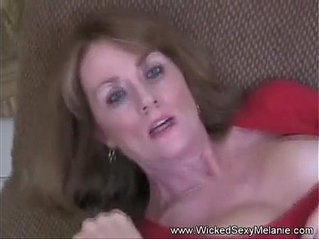 Busty brunette Milf Mom Fucked By Her Son And His Friend